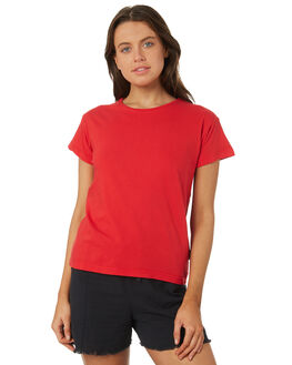 RED WOMENS CLOTHING SILENT THEORY TEES - 6085027RED