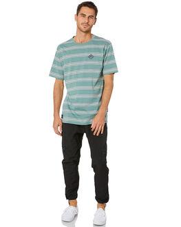 SLATE GREEN MENS CLOTHING RPM TEES - 20WM01A2SLGRN