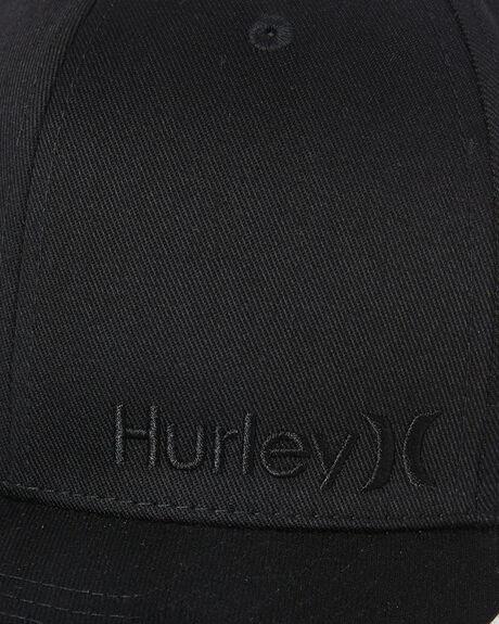 BLACK BLACK MENS ACCESSORIES HURLEY HEADWEAR - BQ2439013