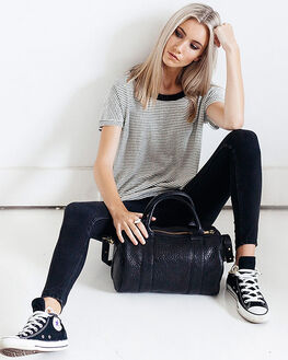 BLACK BUBBLE WOMENS ACCESSORIES STATUS ANXIETY BAGS + BACKPACKS - SA7211BKBBL