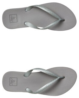 SILVER OUTLET WOMENS REEF THONGS - A3FETSIL