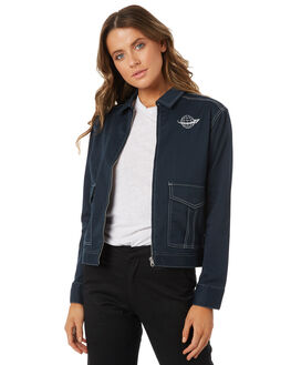 NAVY OUTLET WOMENS VOLCOM JACKETS - B1531804NVY