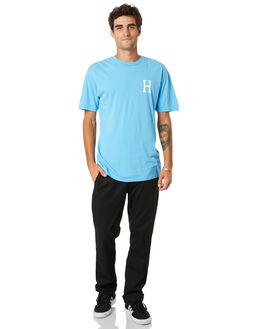 GREEK BLUE MENS CLOTHING HUF TEES - TS01048-GKBLU