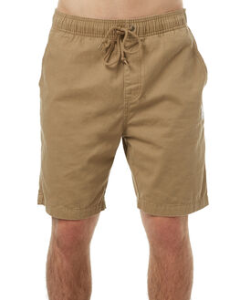 KHAKI MENS CLOTHING RUSTY SHORTS - WKM0856KHA