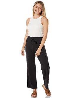 BLACK WOMENS CLOTHING RUSTY PANTS - PAL1171BLK
