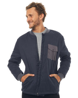 NAVY MENS CLOTHING DEPACTUS JACKETS - D5171385NAVY