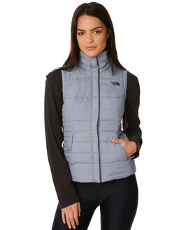 MID GREY WOMENS CLOTHING THE NORTH FACE JACKETS - NF0A35BSV3TMGREY