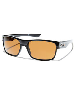 POLISHED BLACK DARK BRONZE MENS ACCESSORIES OAKLEY SUNGLASSES - OO9189-03PBLK