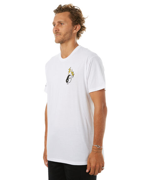 WHITE MENS CLOTHING VOLCOM TEES - A50417G9WHT