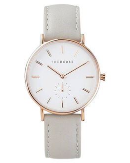 ROSE GOLD WHITE GREY MENS ACCESSORIES THE HORSE WATCHES - AS01-2RGWG