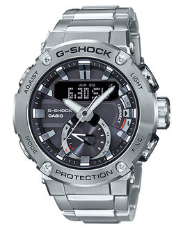SILVER MENS ACCESSORIES G SHOCK WATCHES - GSTB200D-1ASIL