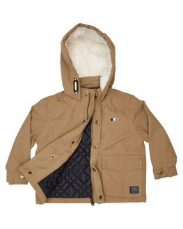 SANDSTONE KIDS BOYS ROOKIE BY THE ACADEMY BRAND JUMPERS + JACKETS - R19W204SAND