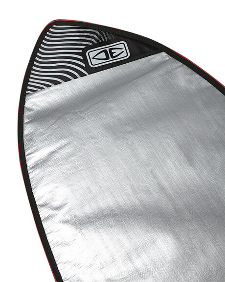 SILVER BOARDSPORTS SURF OCEAN AND EARTH BOARDCOVERS - SCFB446SILV