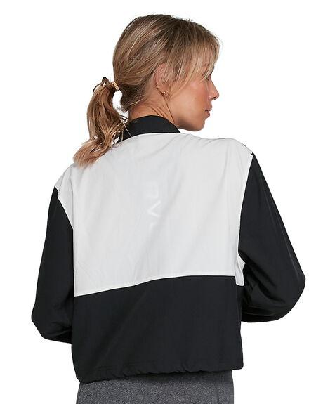 BLACK WOMENS CLOTHING RVCA ACTIVEWEAR - RV-R405435-BLK
