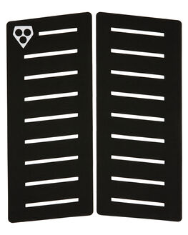 BLACK BOARDSPORTS SURF GORILLA TAILPADS - GSM21BLK