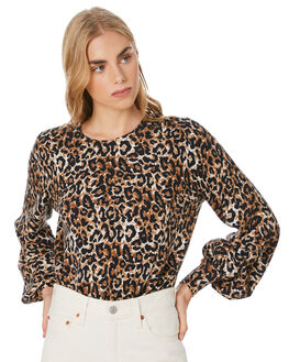 LEOPARD WOMENS CLOTHING TIGERLILY KNITS + CARDIGANS - T305140LEO