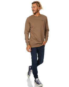 DESERT SAND MENS CLOTHING THRILLS JUMPERS - TW7-224FDSAND