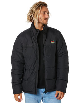 BLACK MENS CLOTHING DEPACTUS JACKETS - D5194381BLACK