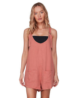 MOCCASIN WOMENS CLOTHING BILLABONG PLAYSUITS + OVERALLS - BB-6592542-MCN