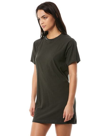 VINTAGE BLACK WOMENS CLOTHING VOLCOM DRESSES - B1311818VBK
