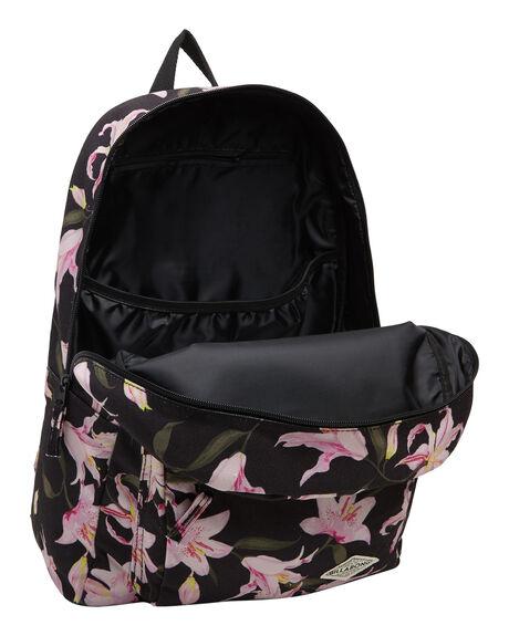 BLACK WOMENS ACCESSORIES BILLABONG BAGS + BACKPACKS - BB-6607009-BLK