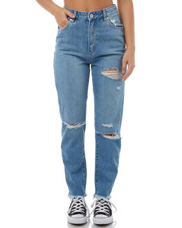 MOONSTONE WOMENS CLOTHING A.BRAND JEANS - 710993591