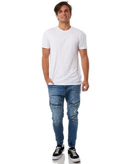LINCOLN BLUE MENS CLOTHING NENA AND PASADENA PANTS - NPMFP004LNCB