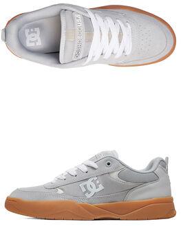 GREY/GUM MENS FOOTWEAR DC SHOES SNEAKERS - ADYS100509-2GG