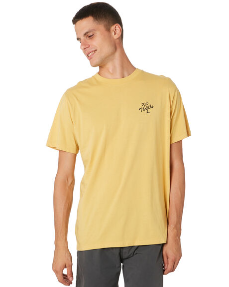 HERITAGE YELLOW MENS CLOTHING THRILLS TEES - TH9-110KHRYEL