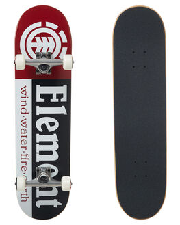 RED BOARDSPORTS SKATE ELEMENT COMPLETES - COLGBSECRED