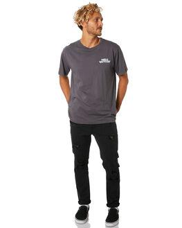 VINTAGE BLACK MENS CLOTHING THRILLS TEES - TA9-109VBVNBLK