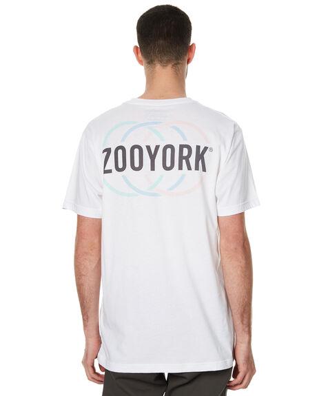 WHITE MENS CLOTHING ZOO YORK TEES - ZY-MTC7084WHT