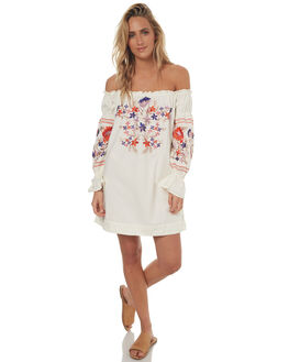 IVORY WOMENS CLOTHING FREE PEOPLE DRESSES - OB6137651103