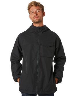 TRUE BLACK MENS CLOTHING BURTON JACKETS - 19602101001TRBLK