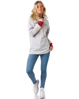GREY MARLE WOMENS CLOTHING BILLABONG JUMPERS - 6581731GRY