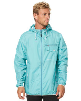 SEA BLUE MENS CLOTHING DEPACTUS JACKETS - AM060005SBLU