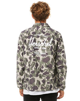 FROG CAMO MENS CLOTHING HERSCHEL SUPPLY CO JACKETS - 15002-00061