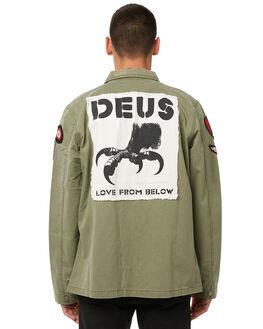 CLOVER MENS CLOTHING DEUS EX MACHINA SHIRTS - DMP85074CLVR
