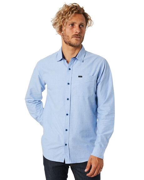 BLUE MENS CLOTHING RIP CURL SHIRTS - CSHLM10070