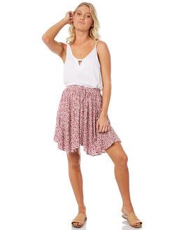 MINI FLORAL WOMENS CLOTHING ELWOOD SKIRTS - W83608MFPR
