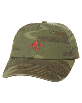 CAMO MENS ACCESSORIES THRILLS HEADWEAR - TS7-507FZCAMO