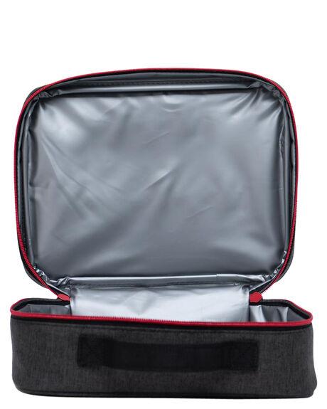 BLACK CROSSHATCH RED KIDS BOYS HERSCHEL SUPPLY CO BAGS + BACKPACKS - 10227-04062-OSBCROS