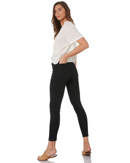 PHASE BLACK WOMENS CLOTHING RIDERS BY LEE JEANS - R-551656-GE7