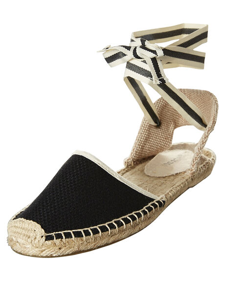 BLACK WOMENS FOOTWEAR SOLUDOS FASHION SANDALS - FSA1001-001