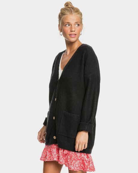 ANTHRACITE WOMENS CLOTHING ROXY KNITS + CARDIGANS - ERJSW03463-KVJ0