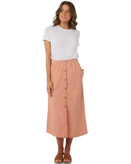 BLUSH WOMENS CLOTHING RHYTHM SKIRTS - OCT18W-SK02BLS