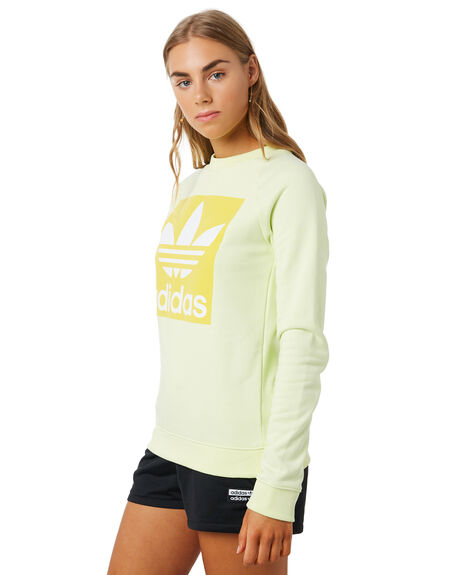 ICE YELLOW WOMENS CLOTHING ADIDAS ACTIVEWEAR - FK0480YLW