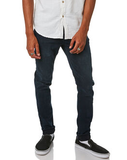 MARAUDER BLACK MENS CLOTHING LEE JEANS - L-606604-NI2MBLK