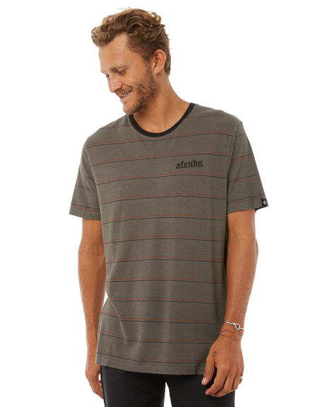 DUSTY OLIVE MENS CLOTHING AFENDS TEES - M181003DOLIV