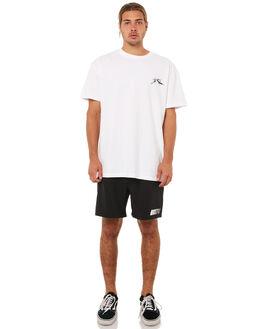 BLACK MENS CLOTHING RUSTY BOARDSHORTS - BSM1215BLK
